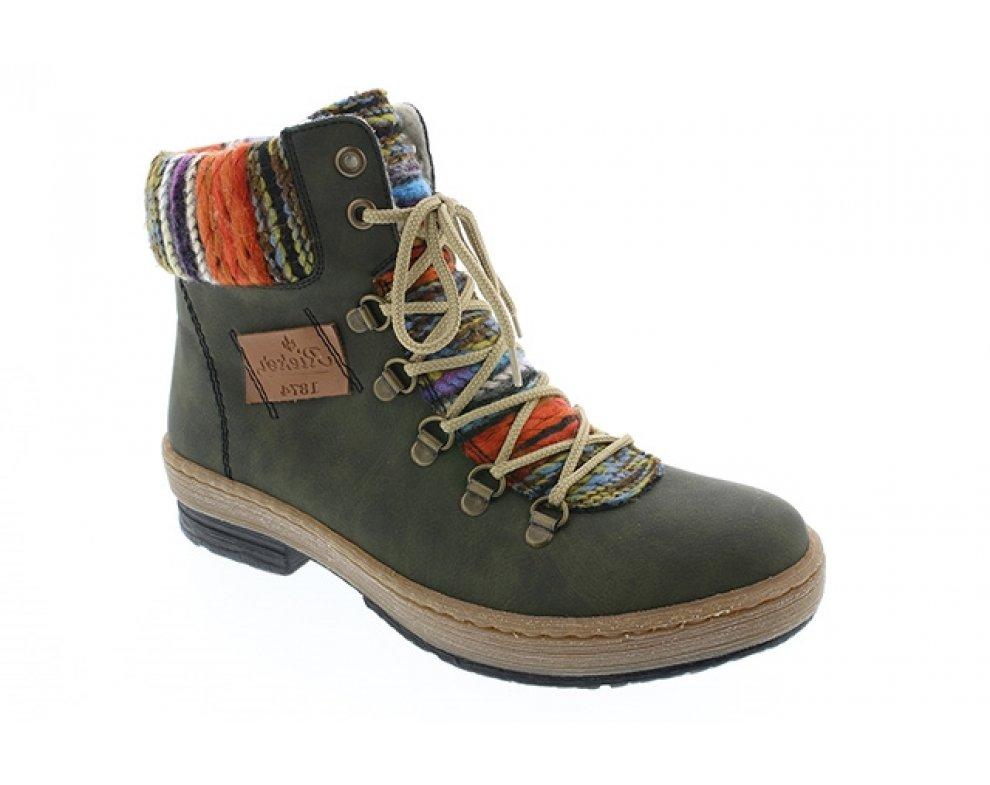 4d0f560a9017 Vychádzková obuv RIEKER Z67432-54 07