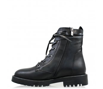 Workery MO1007-01 BLACK LEATHER
