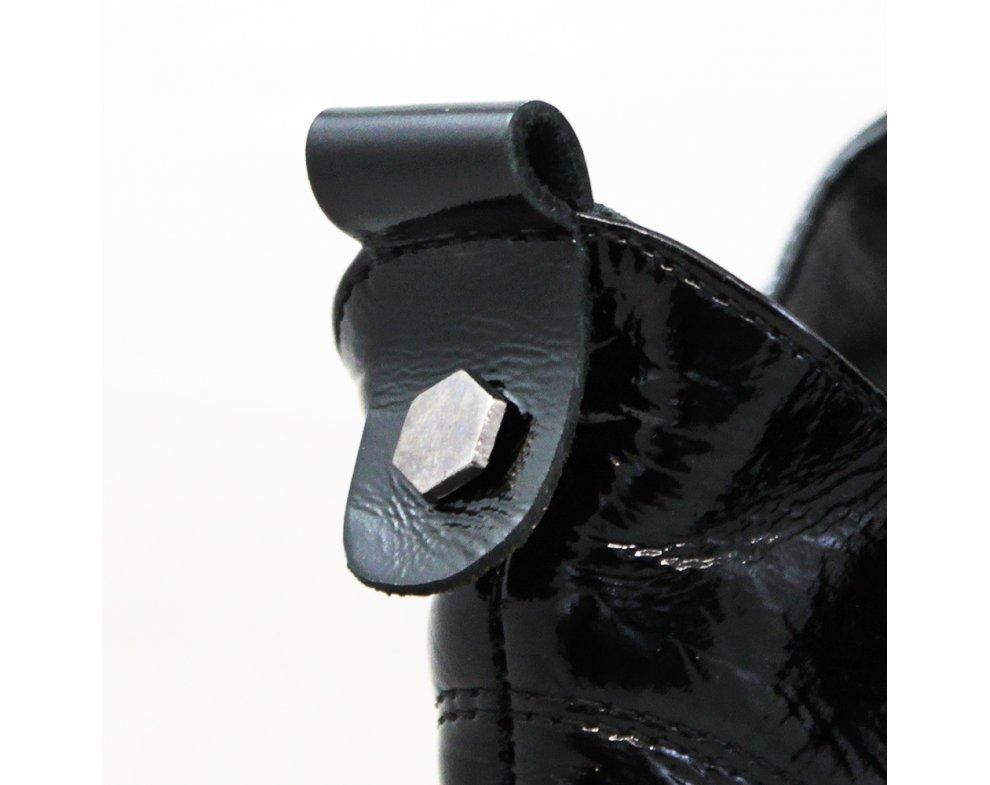 Kotníky AQ2606 BLACK PATENT