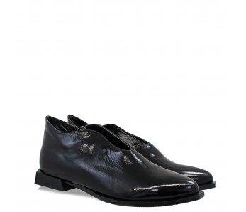 Elegantné topánky AQ3855 BLACK PATENT