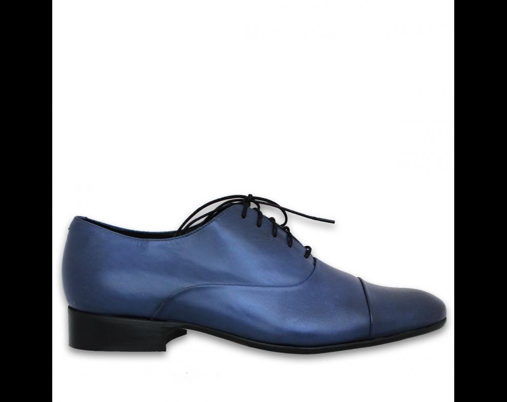 Pánska spoločenská obuv NR85703-30101 BLUE