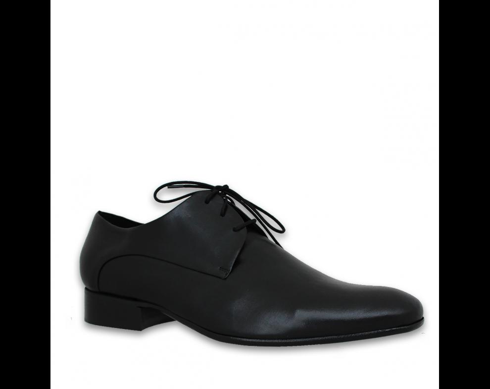 Pánska spoločenská obuv NR90726-30101 BLACK