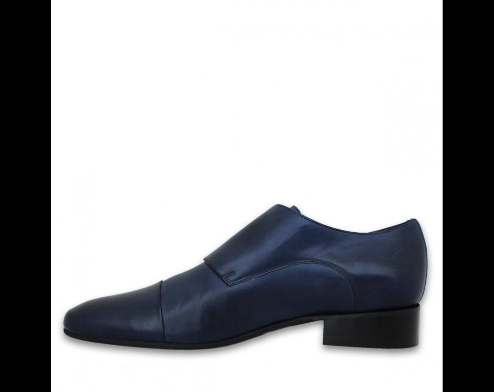 Pánska spoločenská obuv NR99903-31501 BLUE