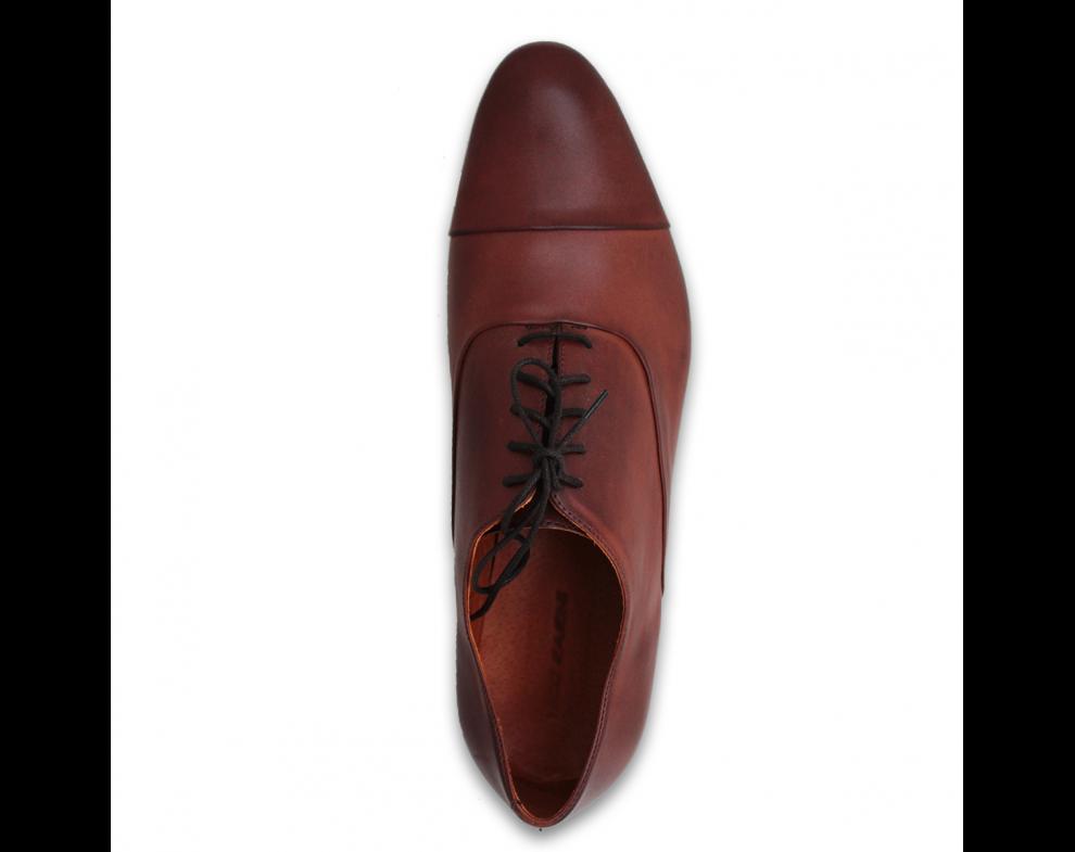 Pánska spoločenská obuv NR85707-30103 BROWN