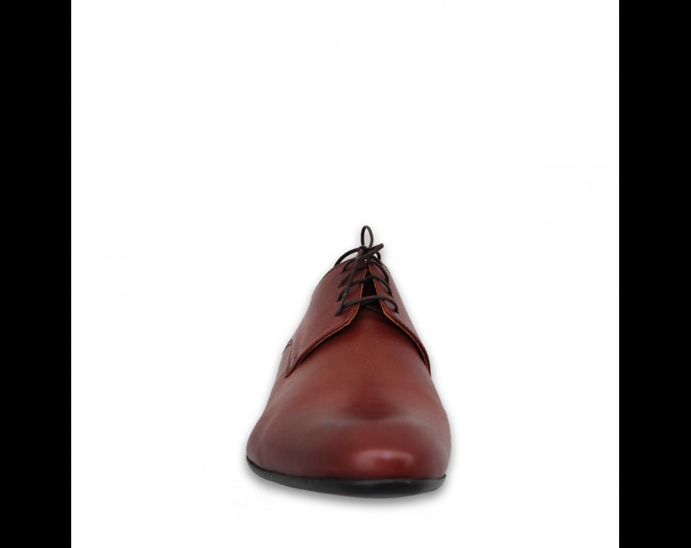 Pánska spoločenská obuv NR71807-30103 BROWN