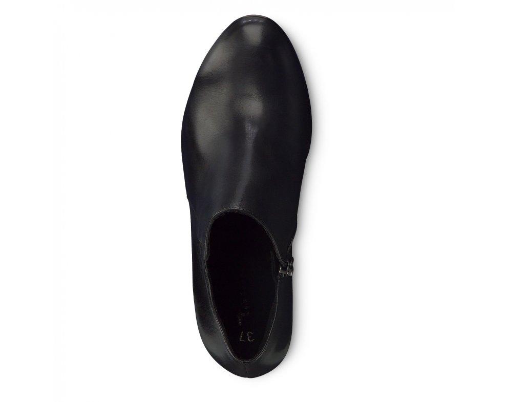 Kotníky 1-1-25386-23 013 BLACK/PATENT