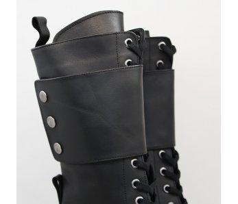 Štýlové čižmy MO1006-32 BLACK
