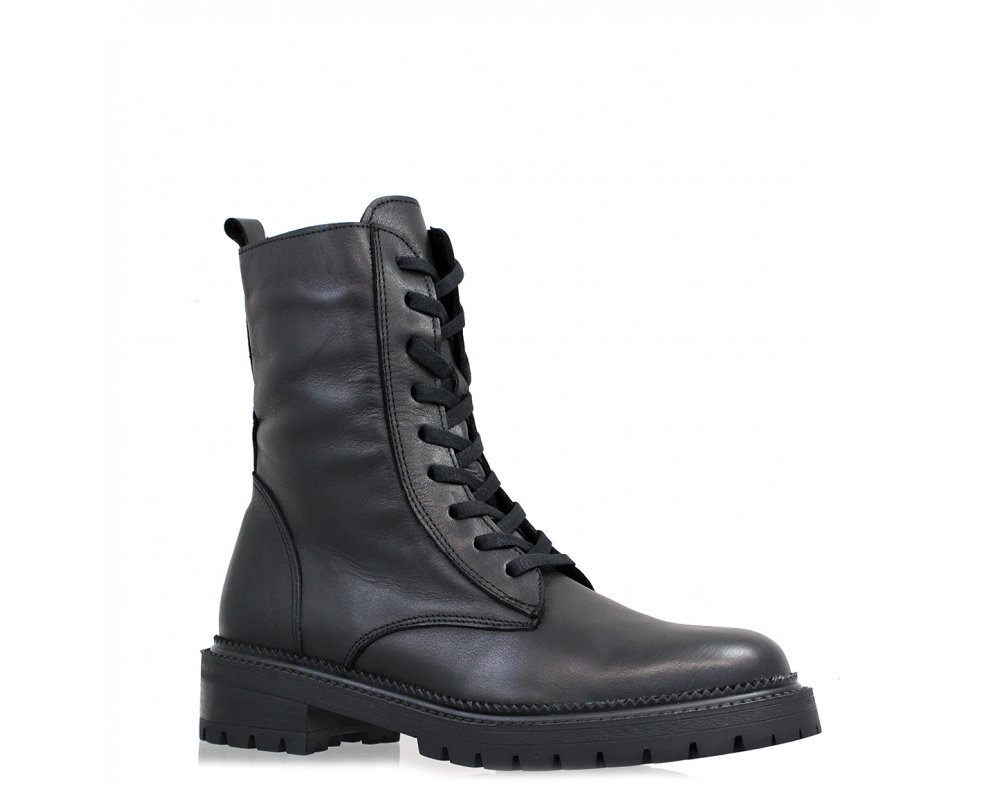 Workery MO1024-163 BLACK LEATHER