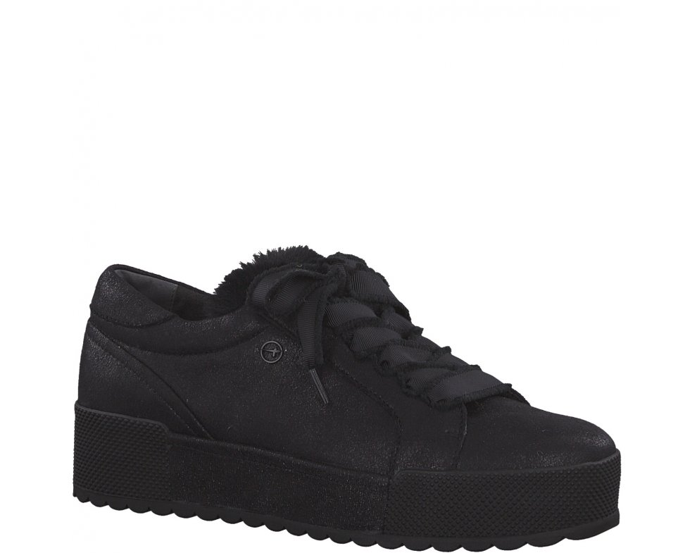 Sneakersy Tamaris 1-1-23726-21 003 BLACK METALLIC