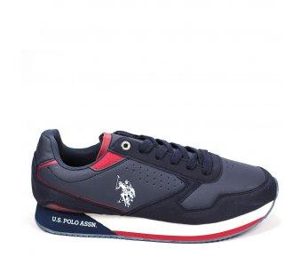 Pánska športová obuv US.POLO NOBIL003-DBL002 DARKBLUE