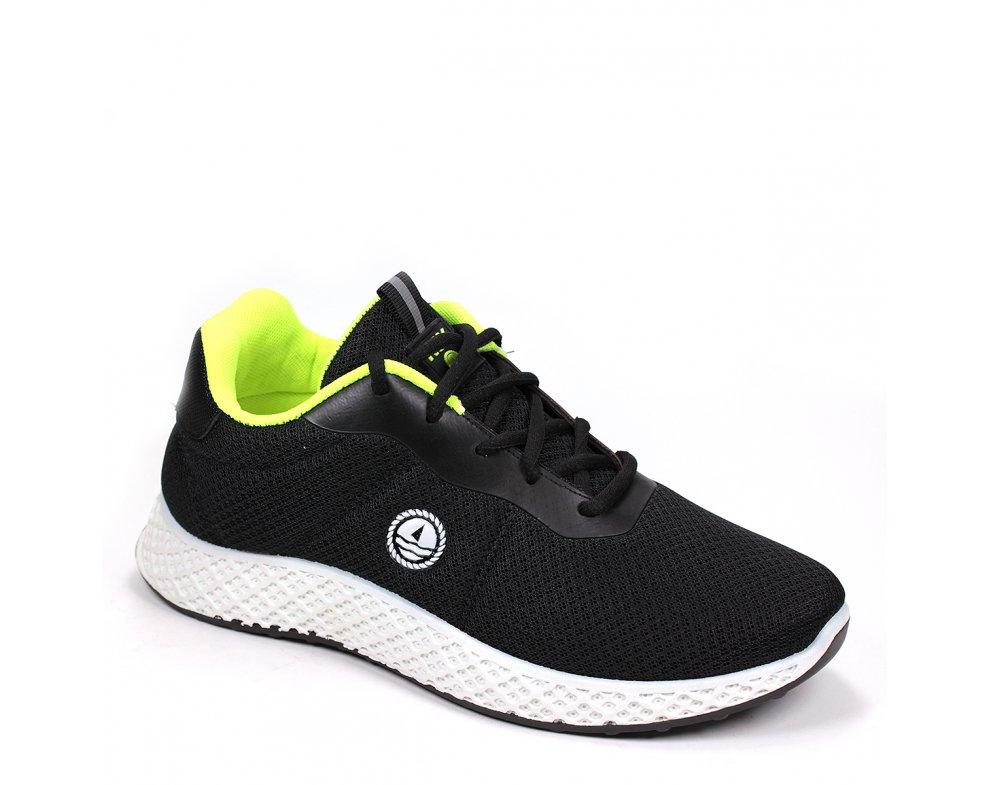 Pánska športová obuv NSM118165 03 BLACK/ FL YELLOW
