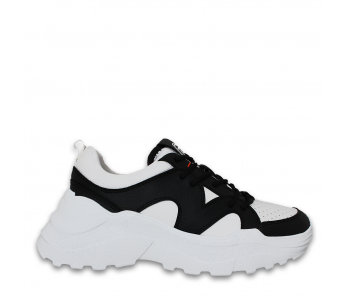 Sneakersy TR79A00455 BLACK/WHITE