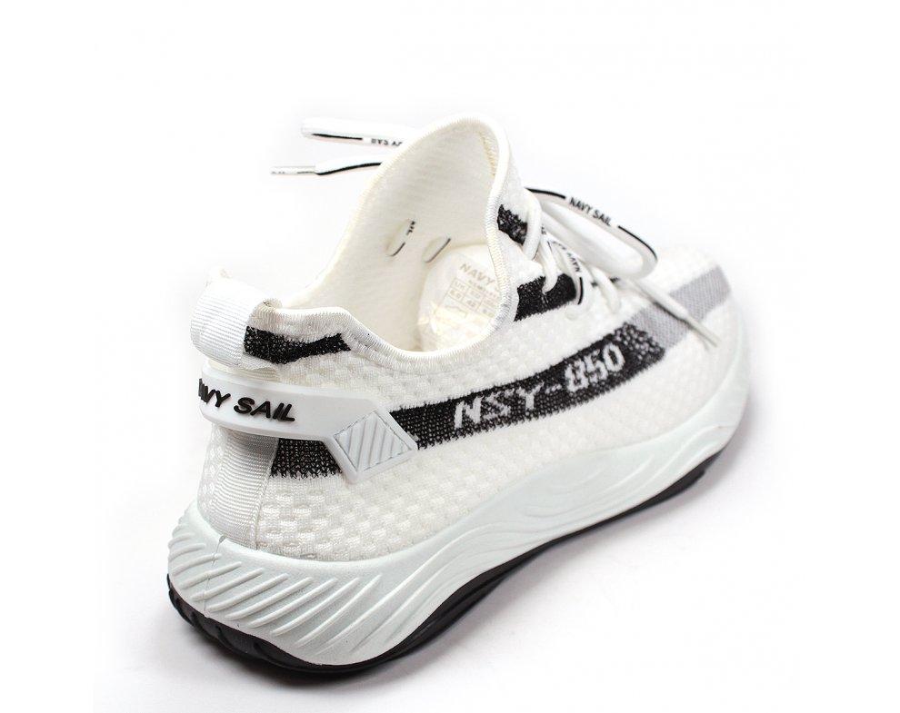 Pánska športová obuv NSM118158 22 REAL WHITE-BLACK