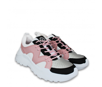 Sneakersy TR79A00455 PINK/GREY/BLACK