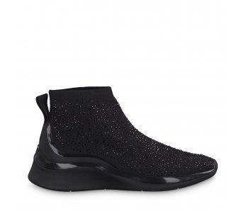 Ponožkové tenisky 1-1-25403-23 007 BLACK UNI