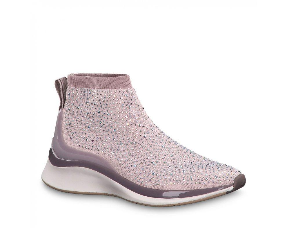 Ponožkové tenisky 1-1-25403-23 554 ROSE COMB