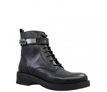 Workery MFS21182 BLACK LEATHER