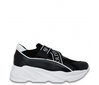 Sneakersy K-2040 BLACK/WHITE