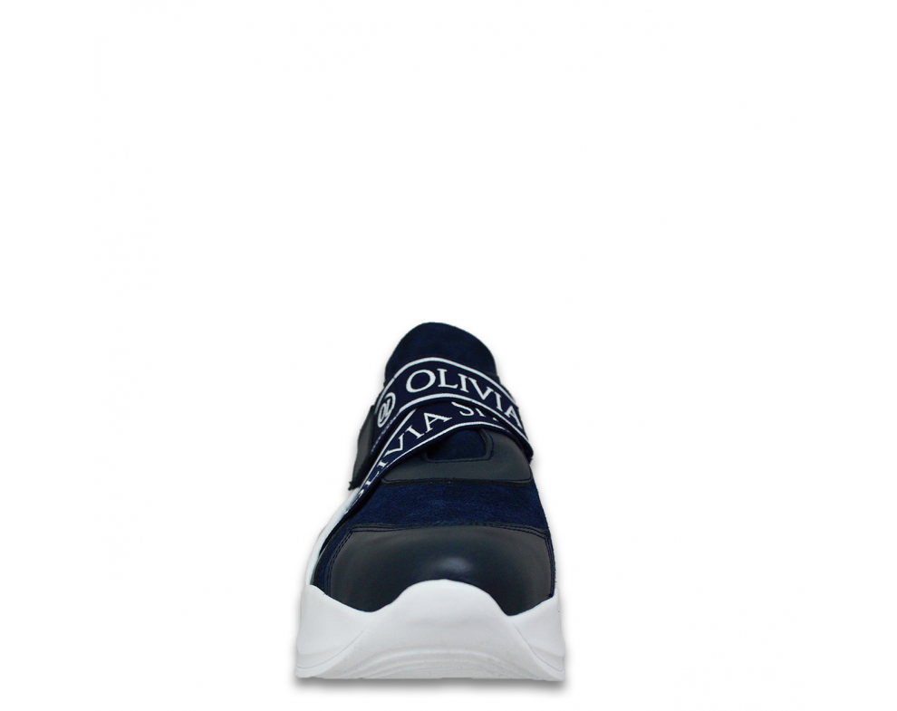 Sneakersy K-2040 NAVY/WHITE
