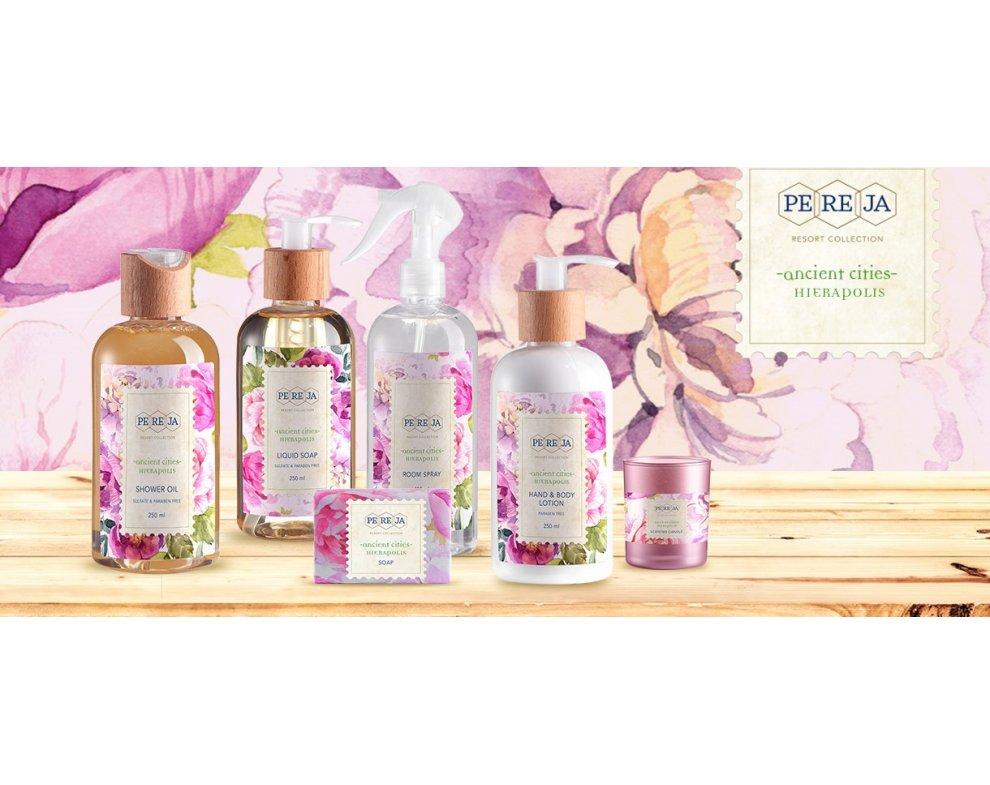 Sprchový olej HIERAPOLIS - pivonka