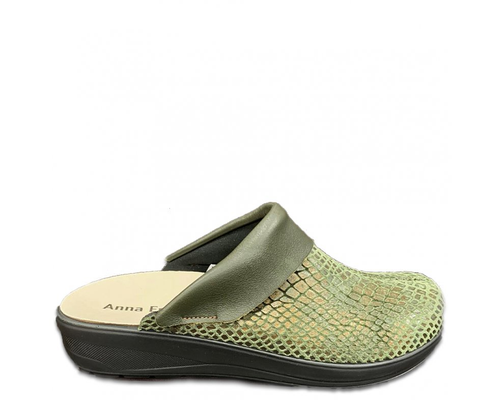 Domáce papuče PU2 GREEN SNAKE