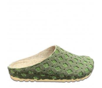 Domáce papuče SU1-19 GREEN