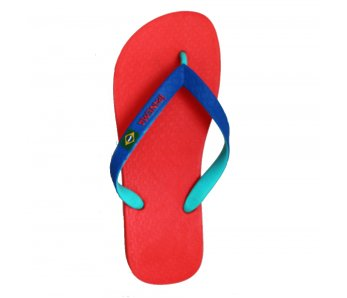 Žabky IPANEMA 81046 RED/GREEN/BLUE
