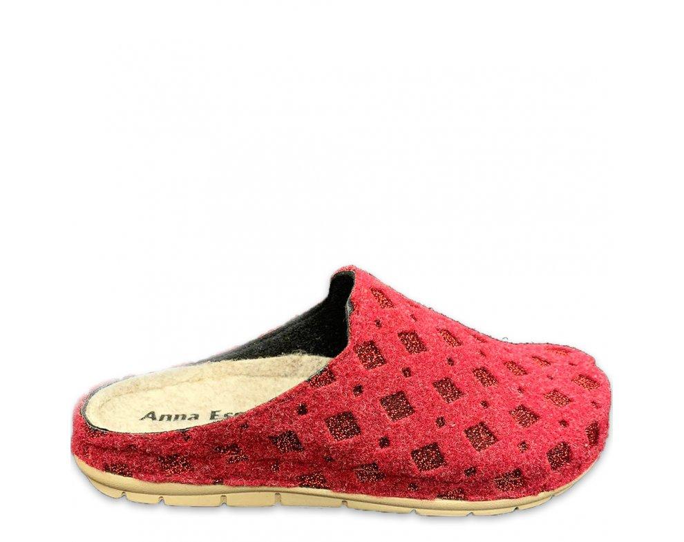 Domáce papuče SMB-14 RED