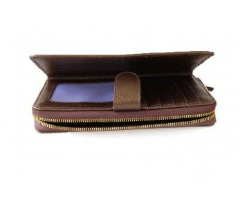 Peňaženky GIUDI G6998LGPCRF-AS