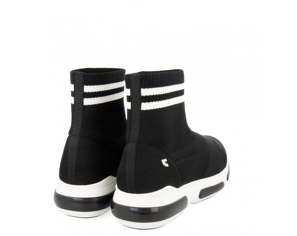 Ponožkové kotníky 56723 BLACK