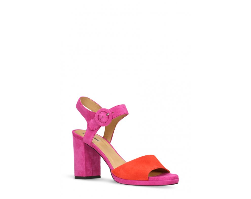 Sandále GINO ROSSI DNH327-AV9-4949-0501-0 FUXIA/RED