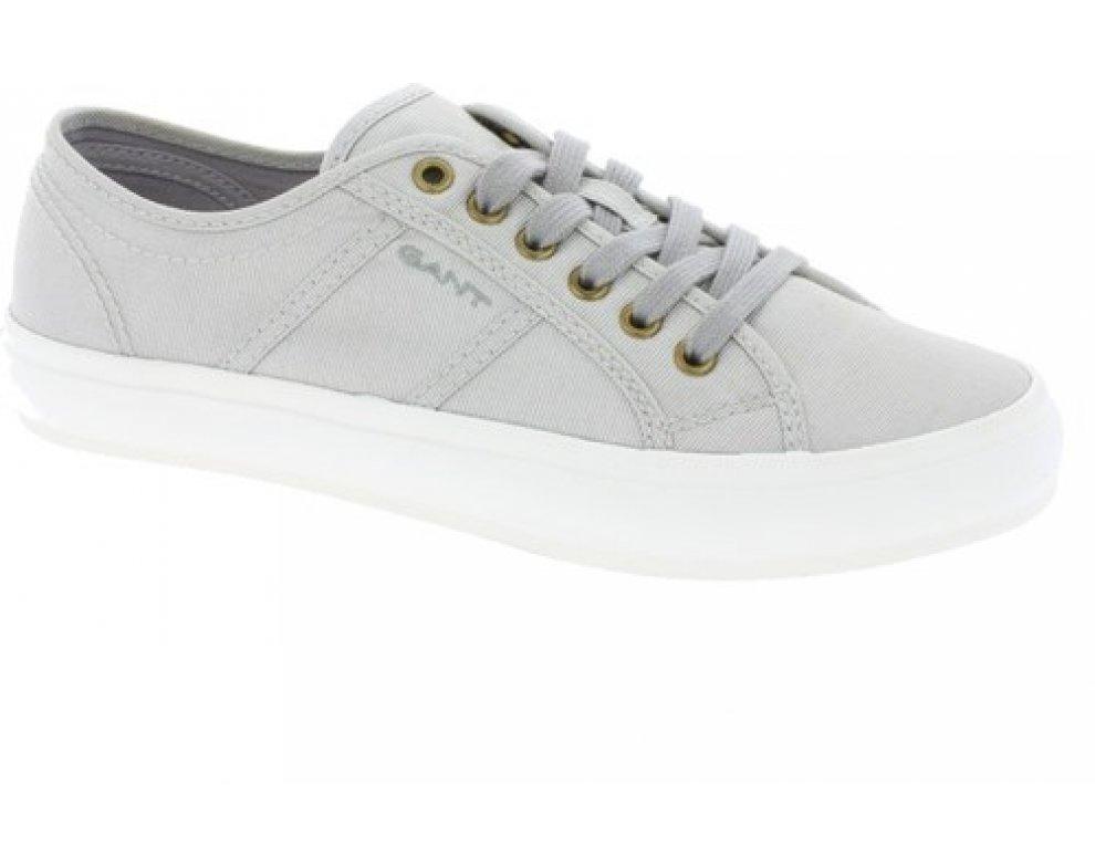 84b189ad9011 Dámske sneakers Gant 14538642 Zoe silver grey ...