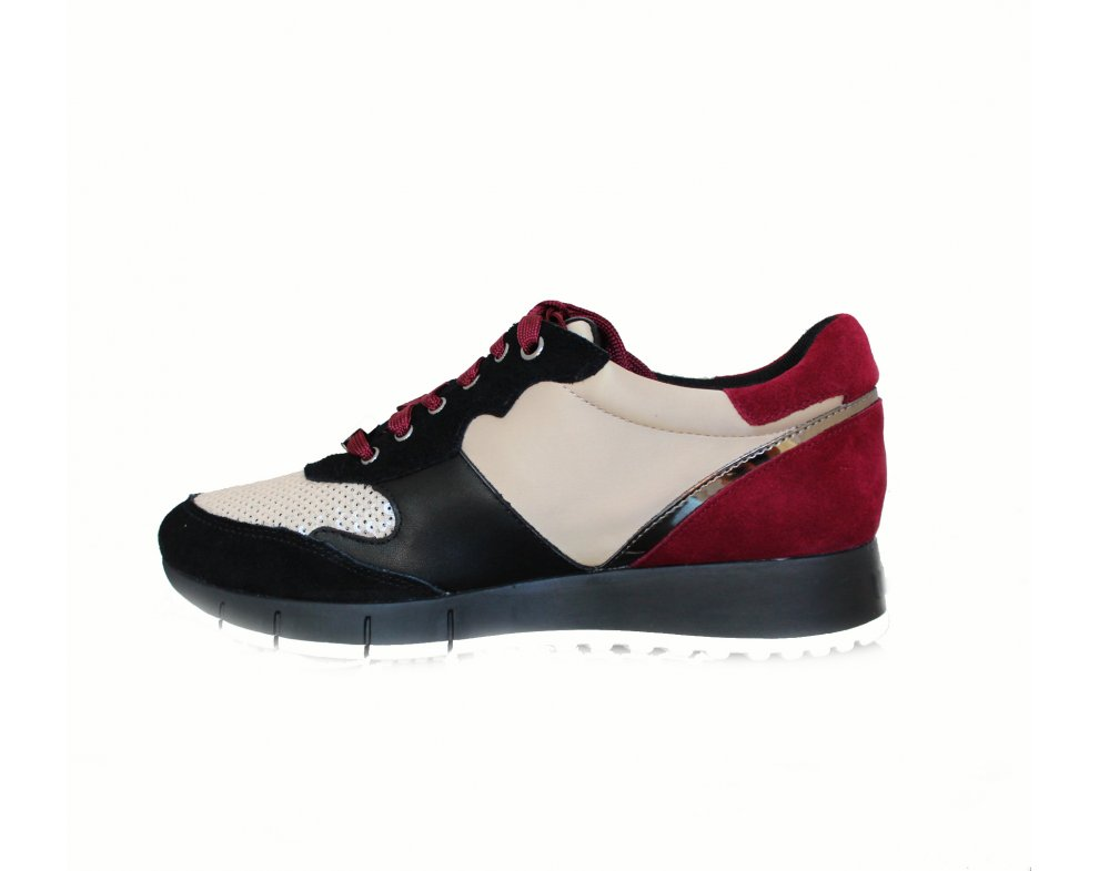 Sneakersy LIU JO B68023PX004S19A5 BLACK/RUBY