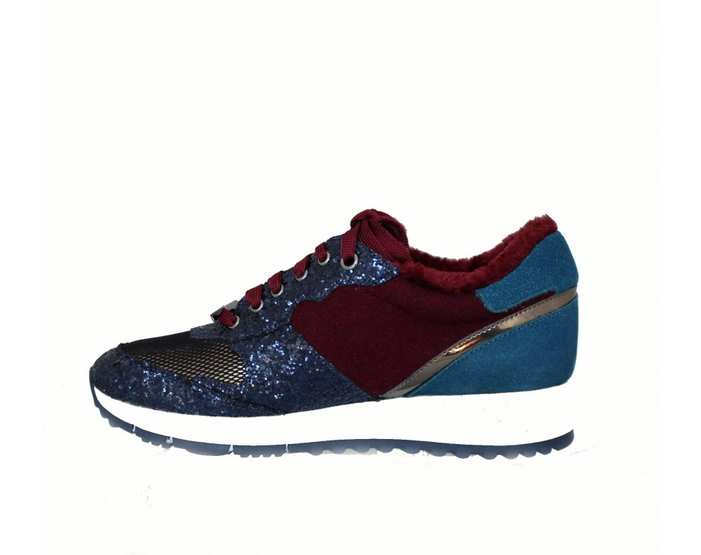 Sneakersy LIU JO B68023TX012S19B0 BLUE/WINE