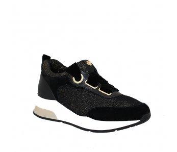 Sneakersy LIU JO B68005TX00401040 BLACK/GOLD