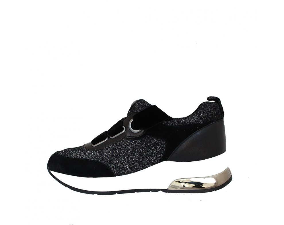 Sneakersy LIU JO B68005TX00401039 BLACK/SILVER