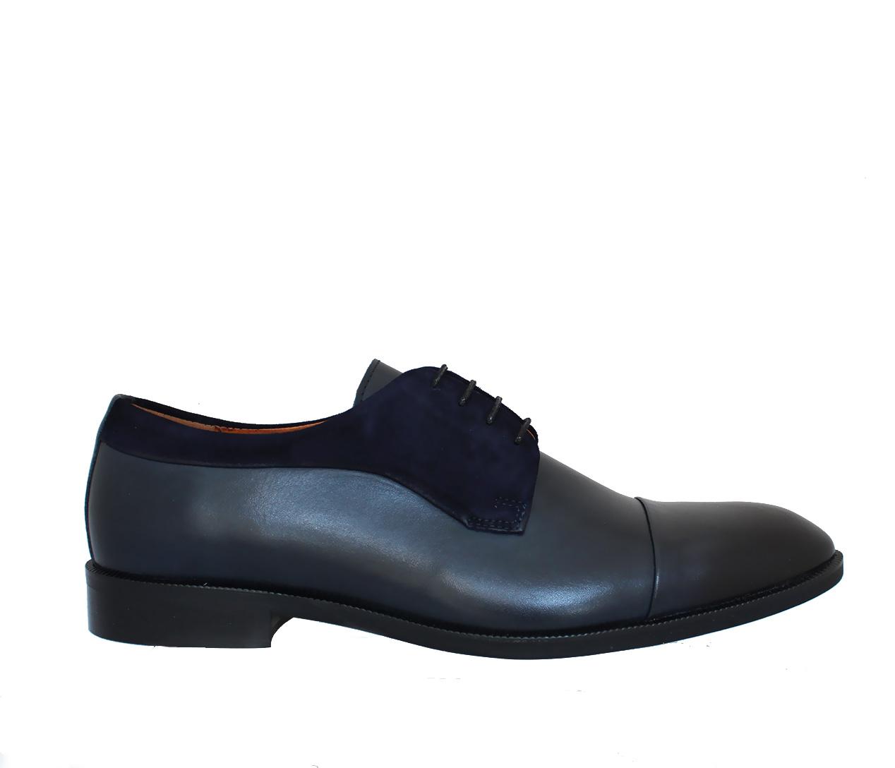7dfec37456f5 Pánksa spoločenská obuv ZEOC7701-ZT26-00S02 MODRÁ SEMIŠ