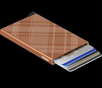 SECRID Cardprotector CLa-Tartan Rust