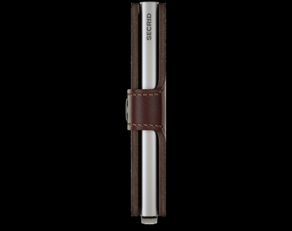 SECRID Miniwallet Dark Brown