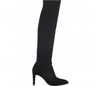 Ponožkovité čižmy Tamaris 1-1-25502-21 001 ČIERNA