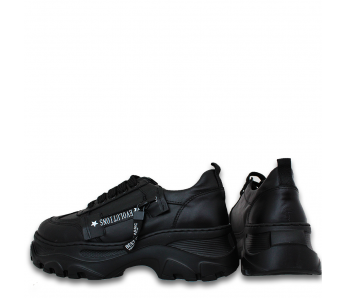 Sneakersy BS1013-12 BLACK