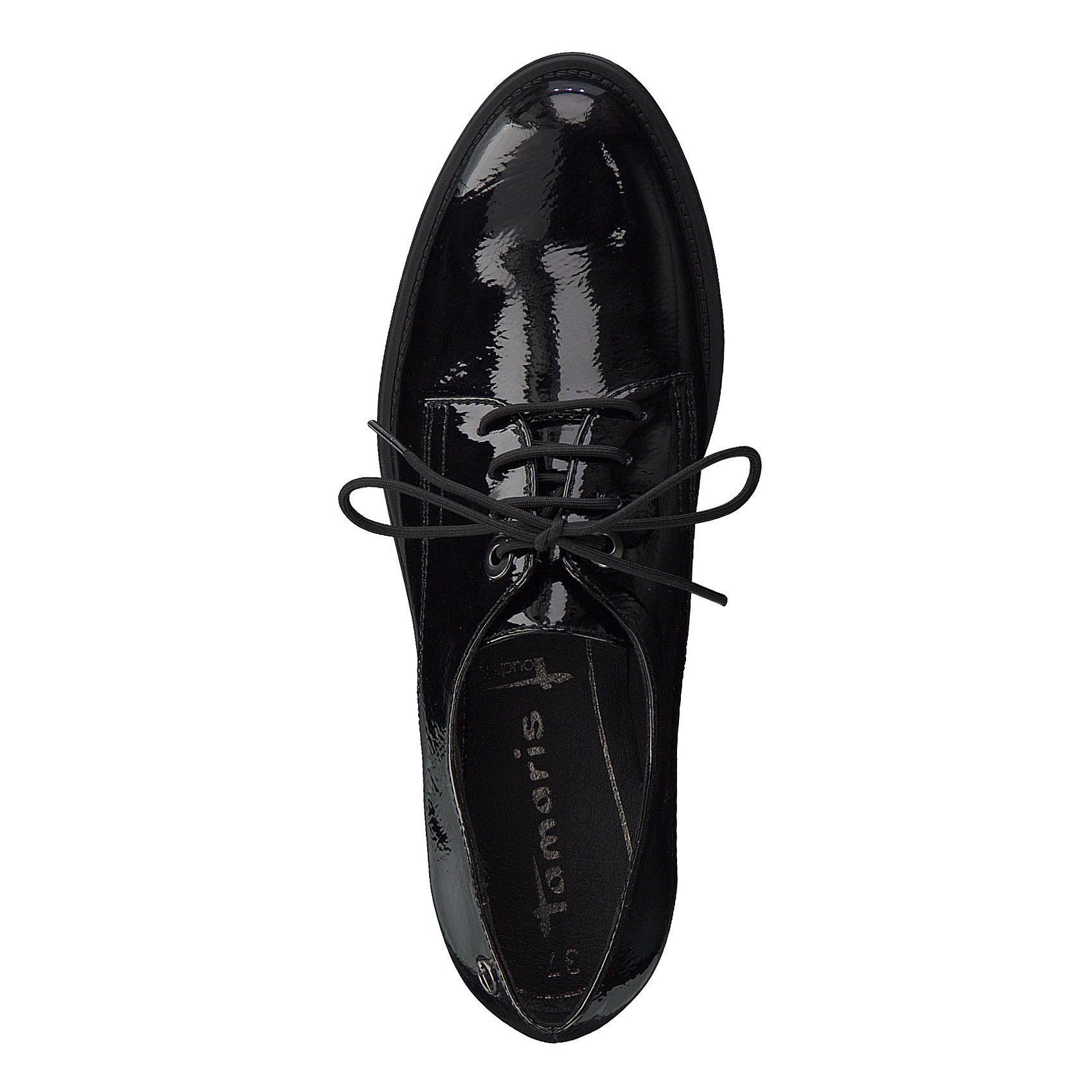 587448d3ecbd8 Dámske poltopánky Tamaris 1-1-23306-21 018 BLACK PATENT | SecretShoes.sk