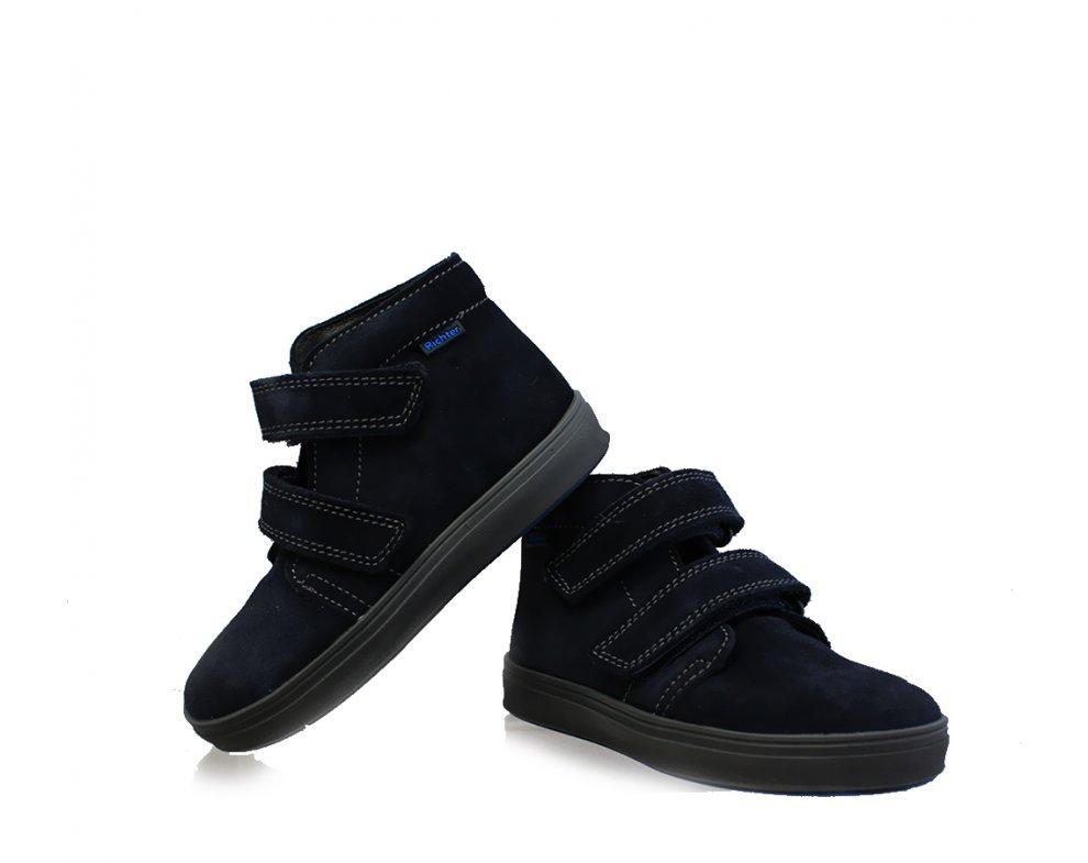 Detská obuv RICHTER R0933-442-7200 Velour Atlantic