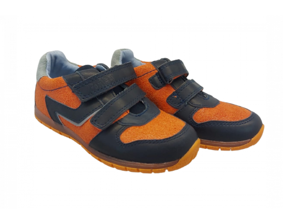 Detské topánky DA07-1-707CL ORANGE