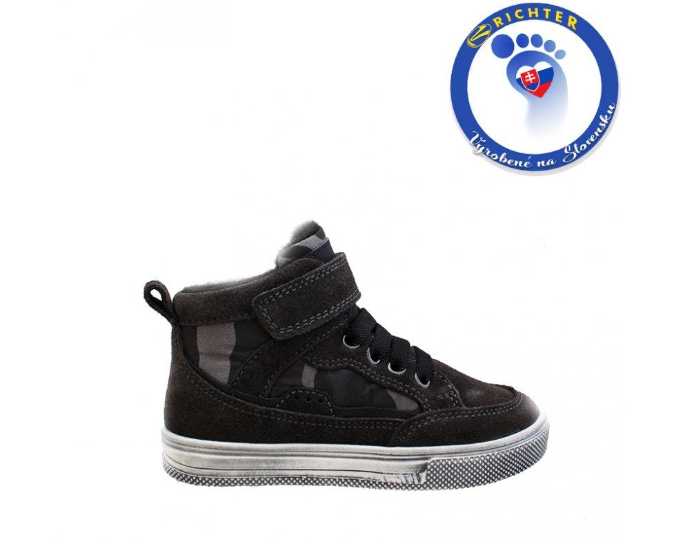 Detské sneakersy RICHTER R6543-441-6501 SIVA