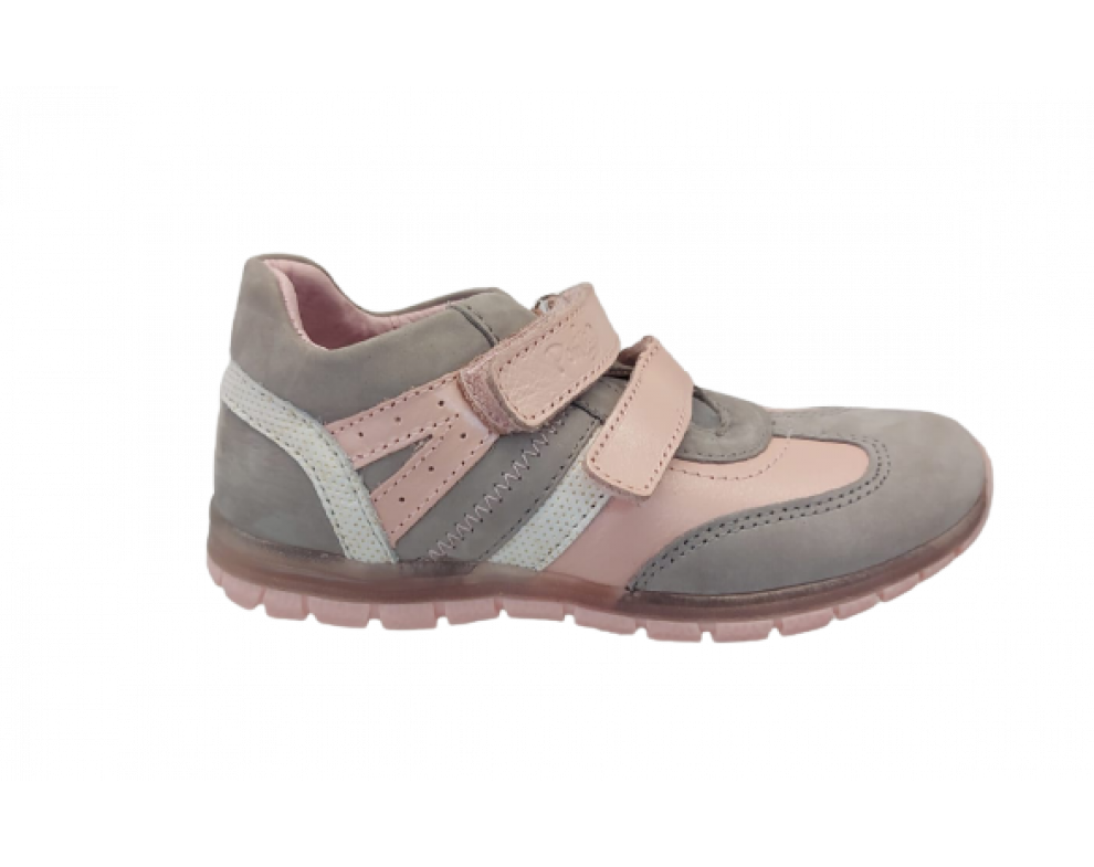 Detské topánky Ponte20 DA07-1-711M GREY