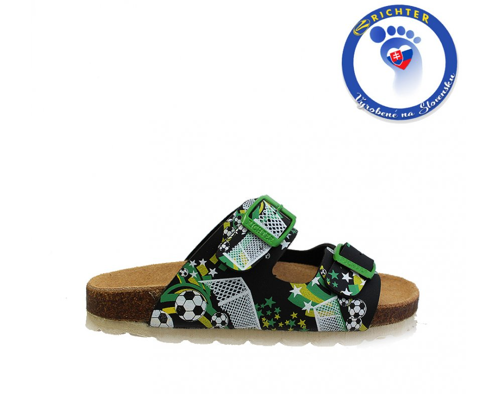 Detské papuče RICHTER R5501-442-7201 FUSSBALL