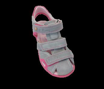 Detské sandále D.D.STEP AC290-7022AL GREY