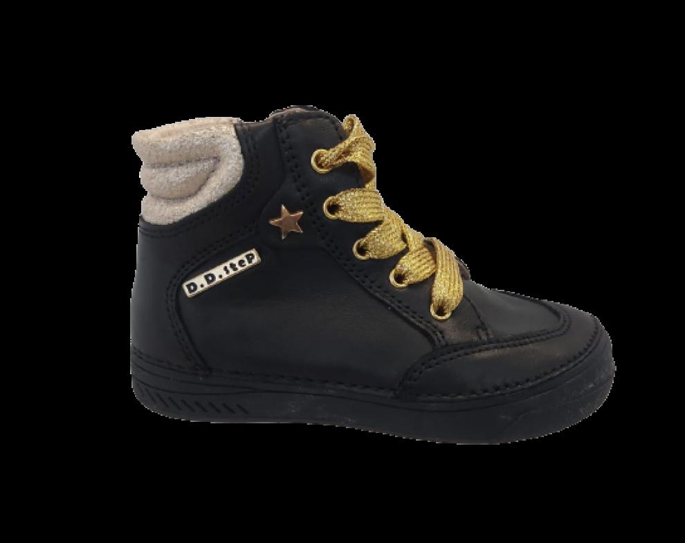 Detská obuv D.D.STEP 040-23BM BLACK