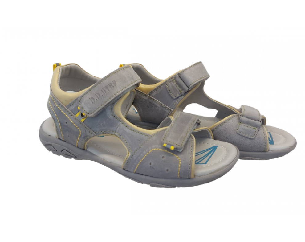 Detské sandále D.D.STEP AC290-7019AL DARK GREY